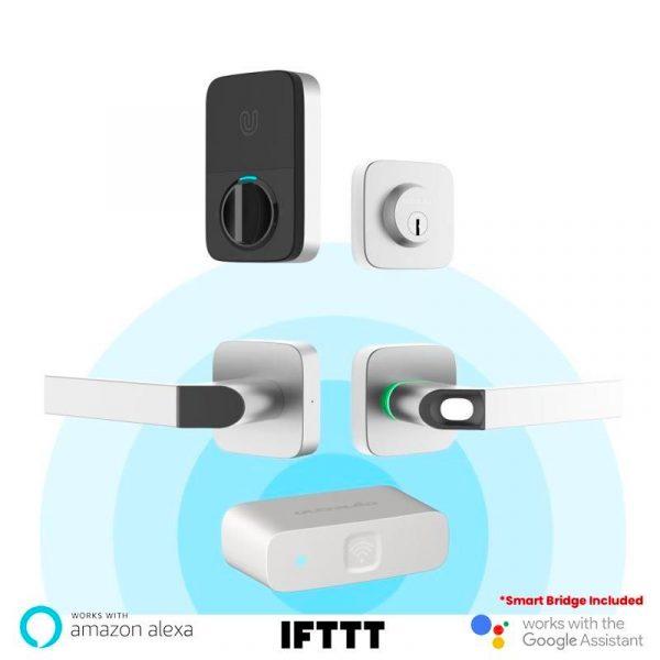 Ultraloq combo bluetooth enabled fingerprint lock
